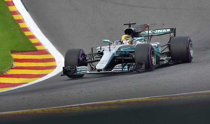 Mercedes en GP de Bélgica