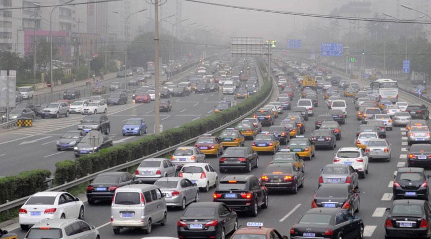 Trafico en Pekín