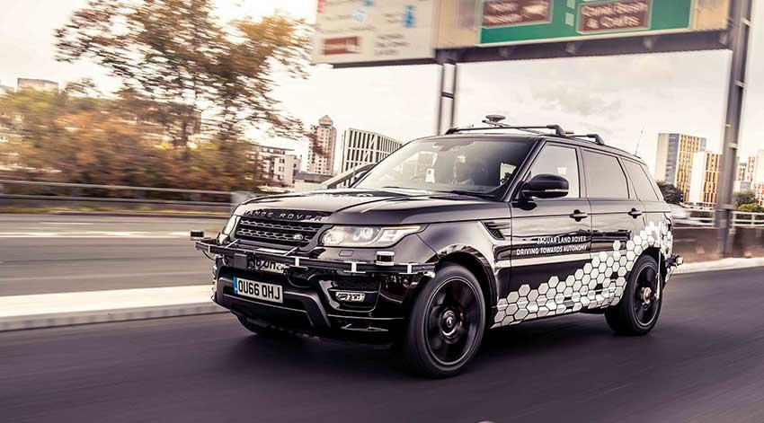 Jaguar Land Rover autónomo