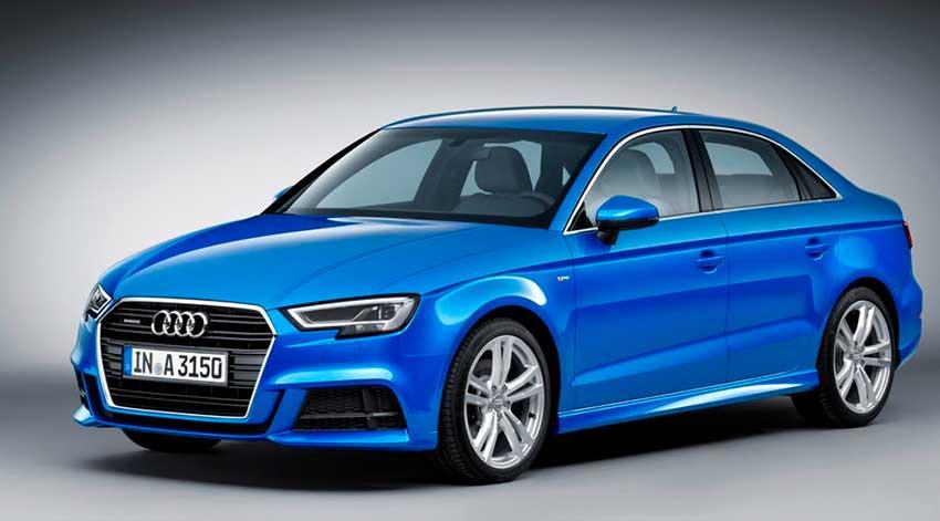 Audi A3 azul 2019