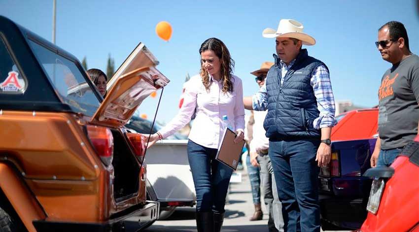 La Secretaria de Turismo y Desarrollo de Pueblos Mágicos, Guadalupe Oyervides Valdez en Vochomania