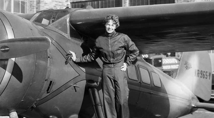 Resultado de imagen de Amelia Earhart