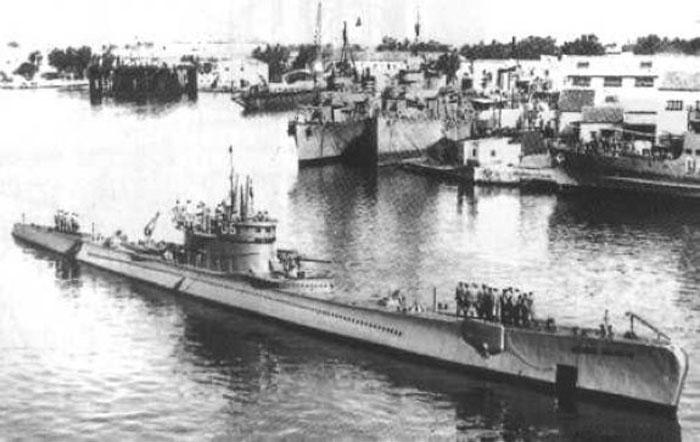 submarino alemán U-Boat