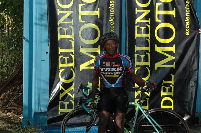 Ciclista Carlos Hernández Calderón