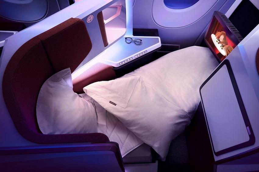 Los asientos tendrán acceso directo al pasillo y pueden ser configurados como cama para proporcionar un mejor descanso a los que lo prefieran.