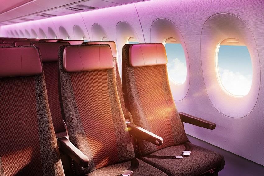 """La """"Economy Class"""" contará con asientos más amplios dentro de un diseño general de cabina mucho más atractivo."""