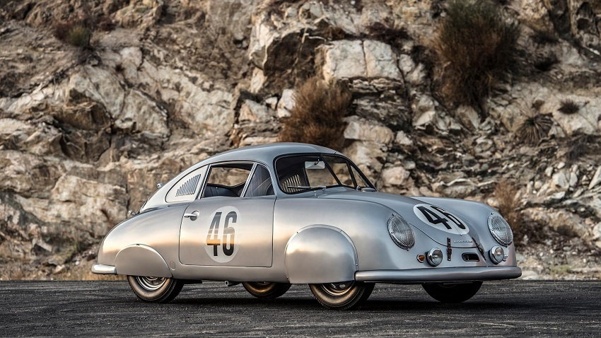 Porsche 356 SL Coupe gris