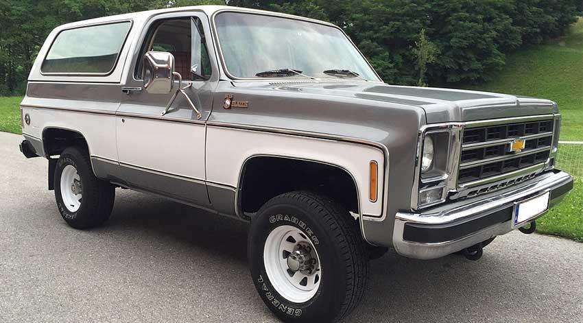 Chevrolet Blazer 1982 | Excelencias del Motor