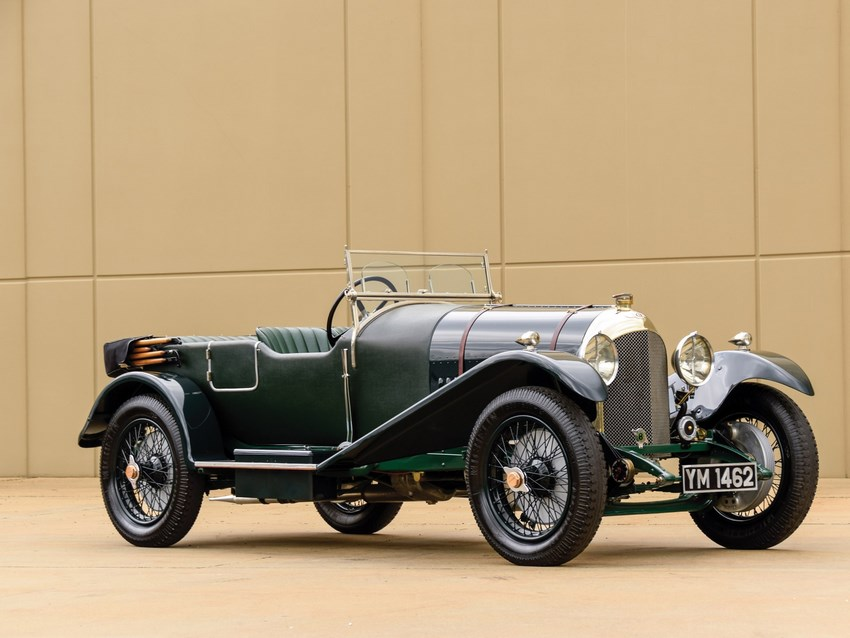 Bentley 3 Litre foto lateral
