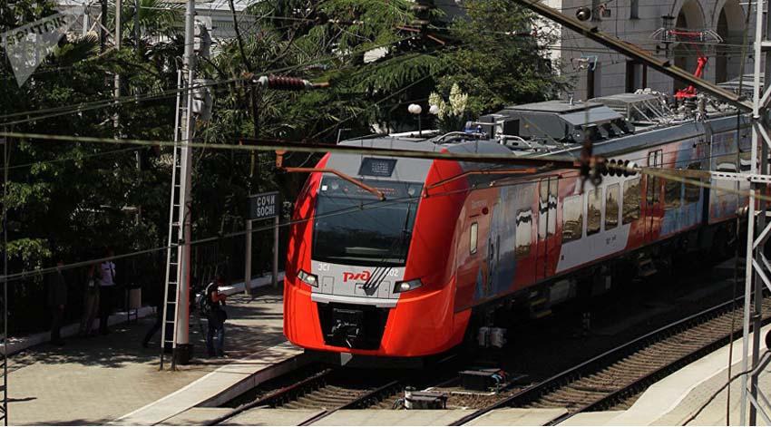 Trenes de rusia