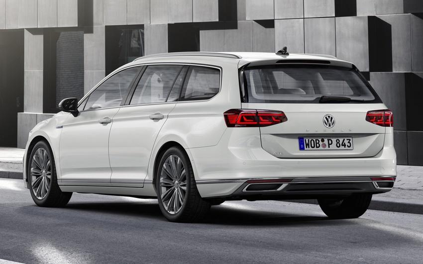 Volkswagen Passat GTE Variant, parte trasera