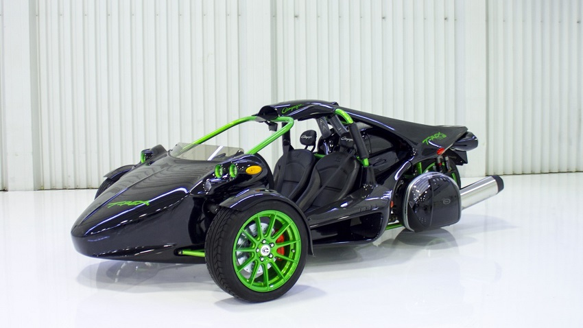 Campagna T-Rex negro modificado