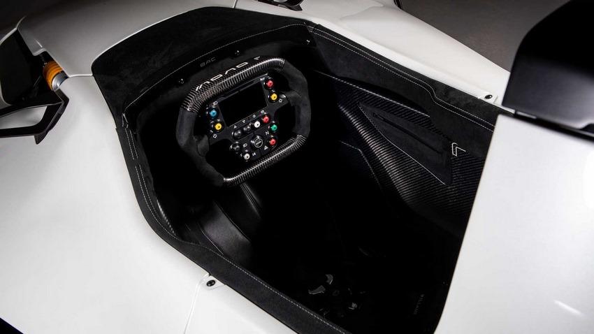 BAC Mono II Interior.