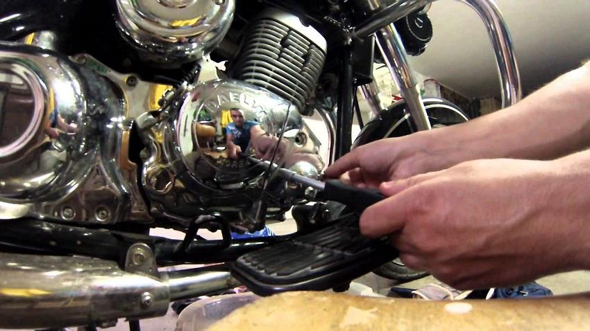 Errores de mantenimiento en una moto