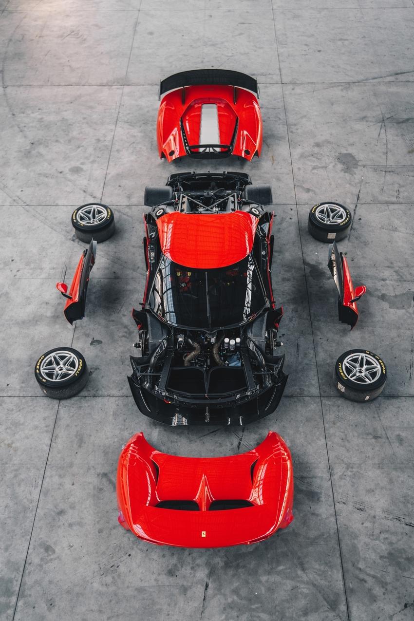 Partes del Ferrari P80/C