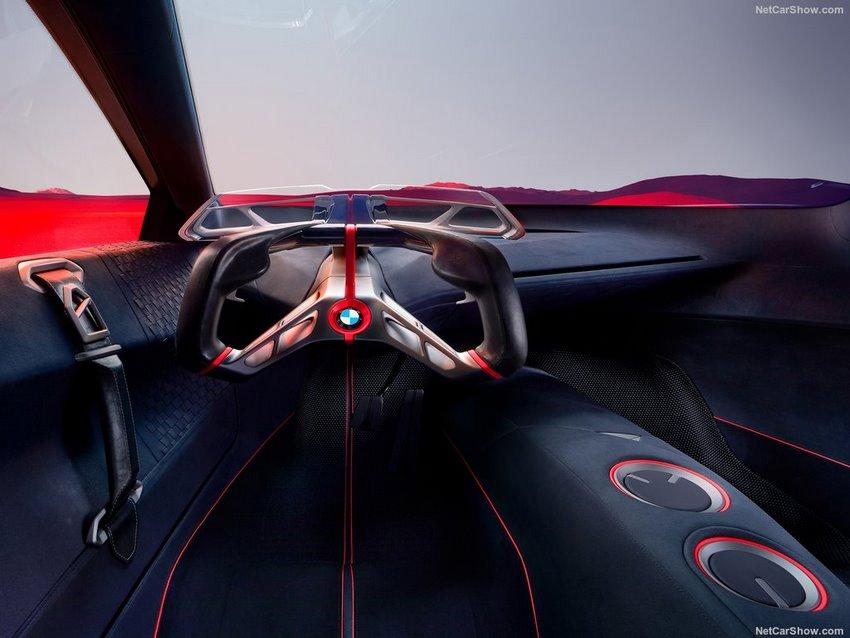 Interior del BMW Vision M NEXT