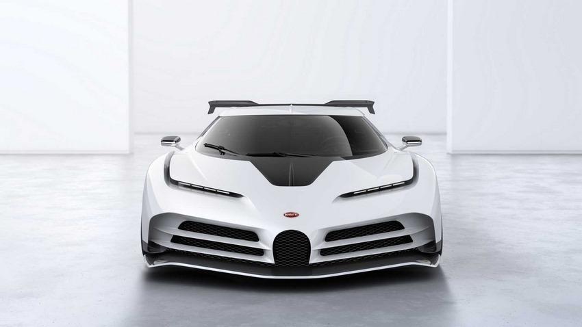 Bugatti Centodieci Vista Frontal