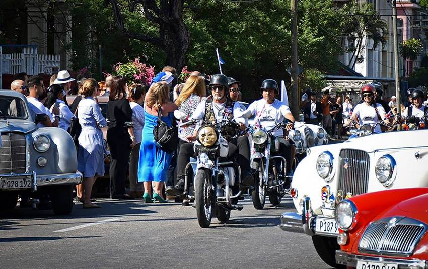 Escudería de Motos Clásicas Inglesas de La Habana