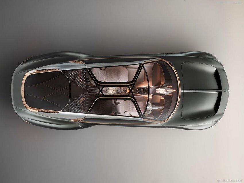 Bentley EXP 100 GT prototipo, vista aerea