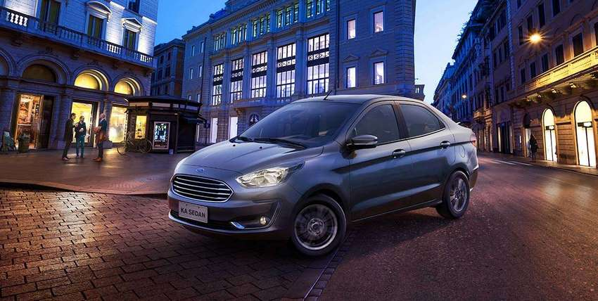 Ford Figo Impulse 2019 vista lateral