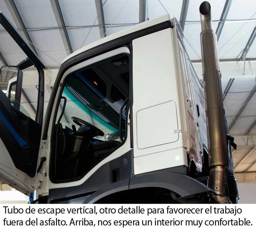 Mercedes-Benz Arocs 4145 Cabina