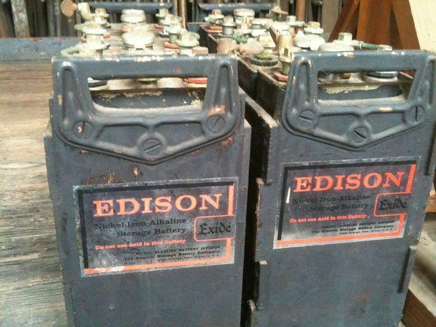 Batería Thomas Edison para autos eléctricos