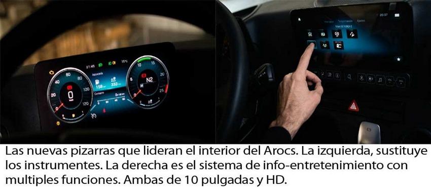 Mercedes-Benz Arocs 4145 Interior