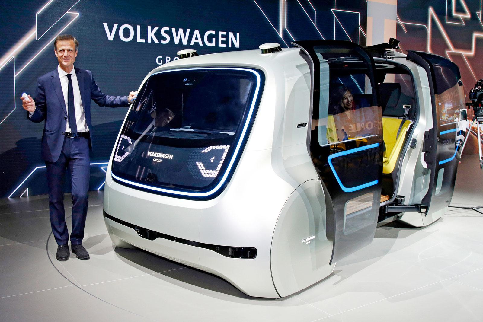 Apple Volkswagen, coches autónomos