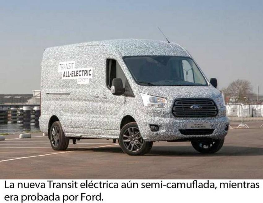 Pruebas de la Ford E-Transit.