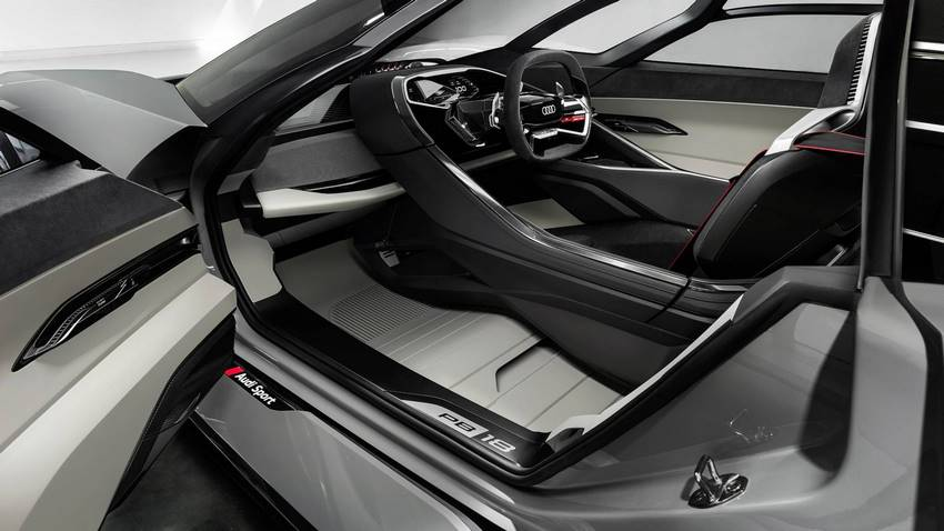 Audi PB18 e-tron concept interior