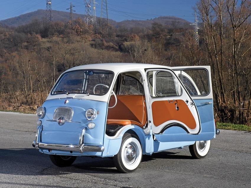 600 Multipla: Fiat inventa el monovolumen