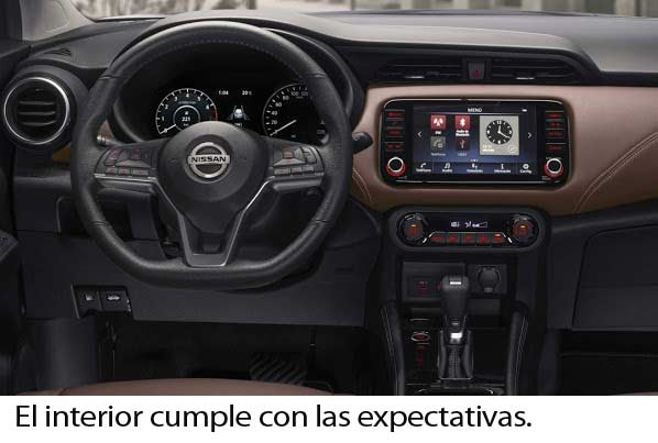 Nissan Kicks interior.