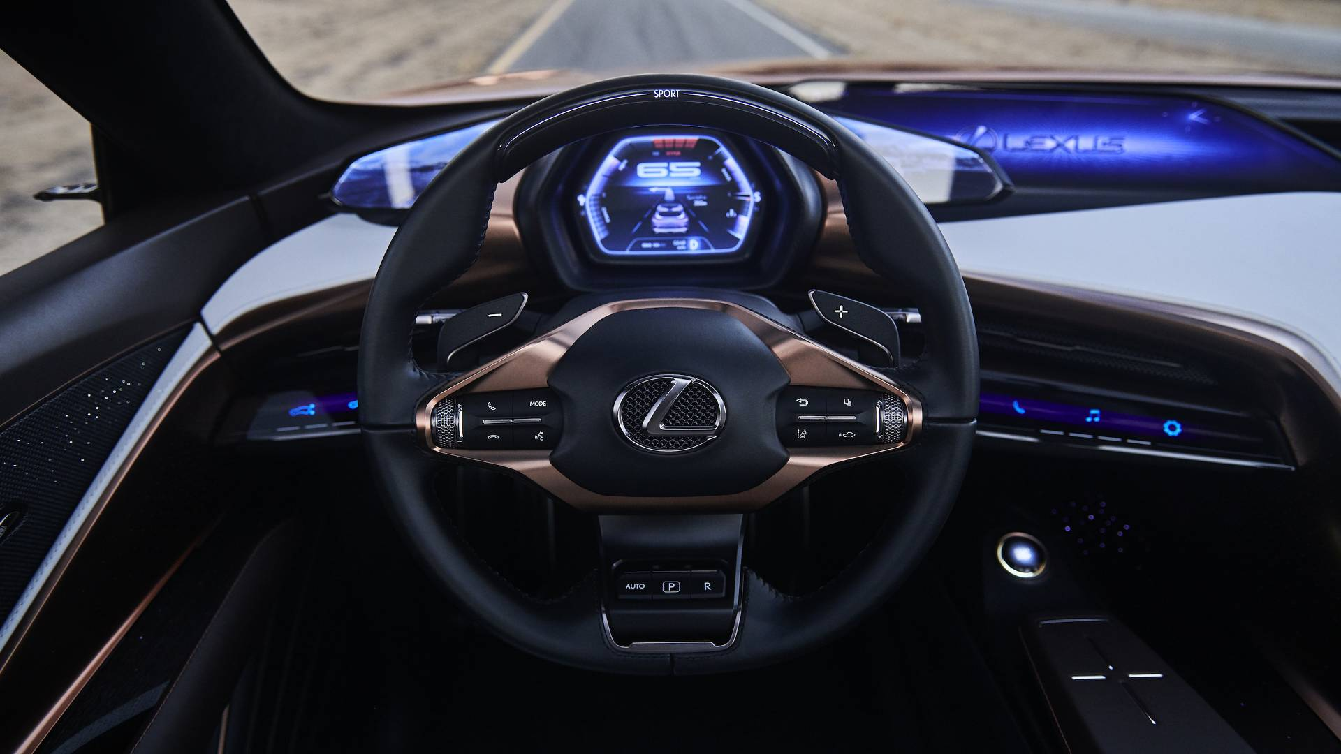 Lexus LF-1 Limitless Concept panel frontal