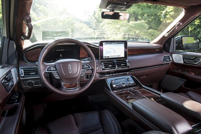 Interior Lincoln Navigator 2019