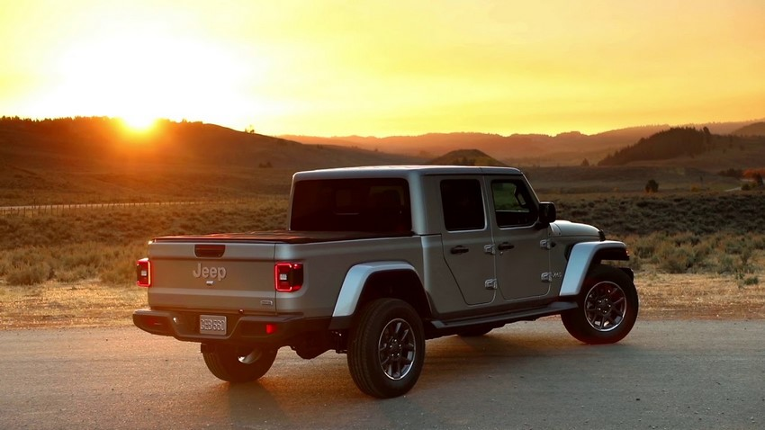 Jeep Gladiator Overlad