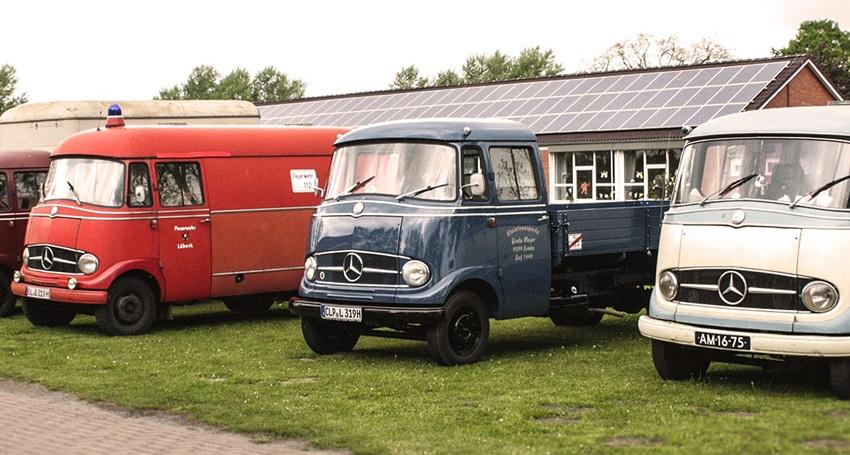 Desconocido 1//43 Furgoneta FURGON Mercedes-Benz L319 1968 AN/ÍS DE LA ASTURIANA