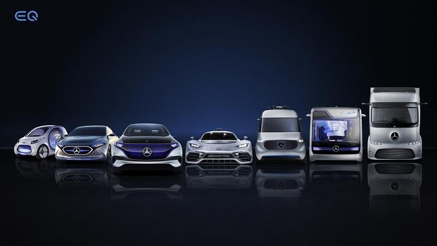 Mercedes Benz Eléctricos