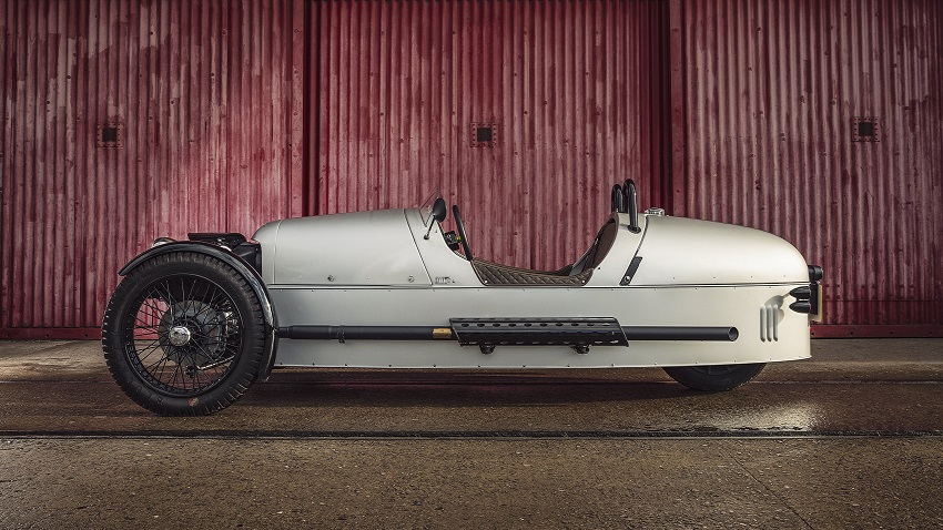 Morgan 3 Wheeler vista lateral