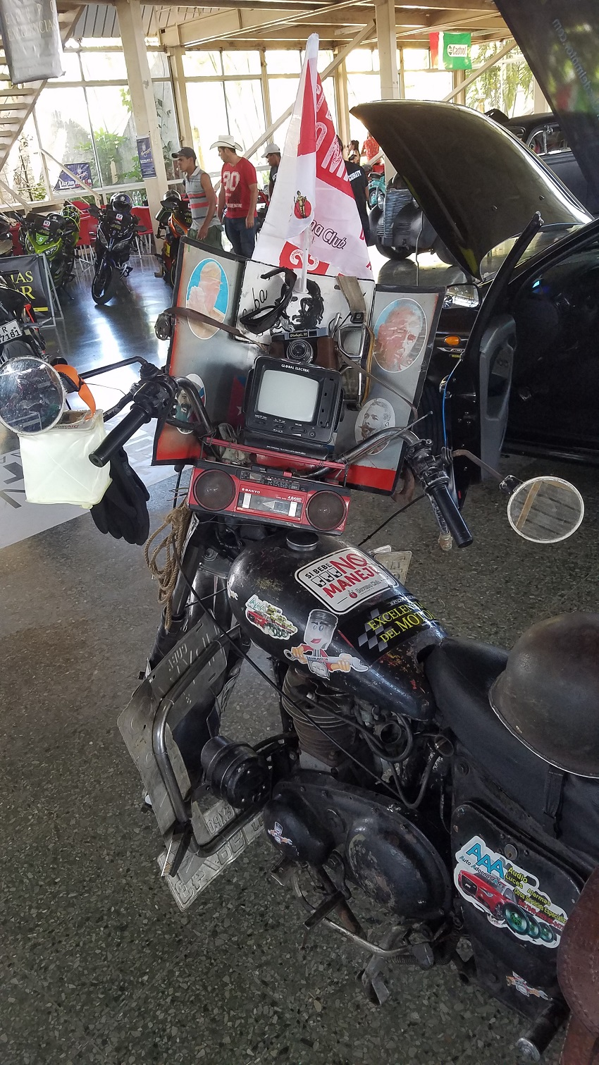 La moto rata, en el 2do Salon Excelencias del Motor