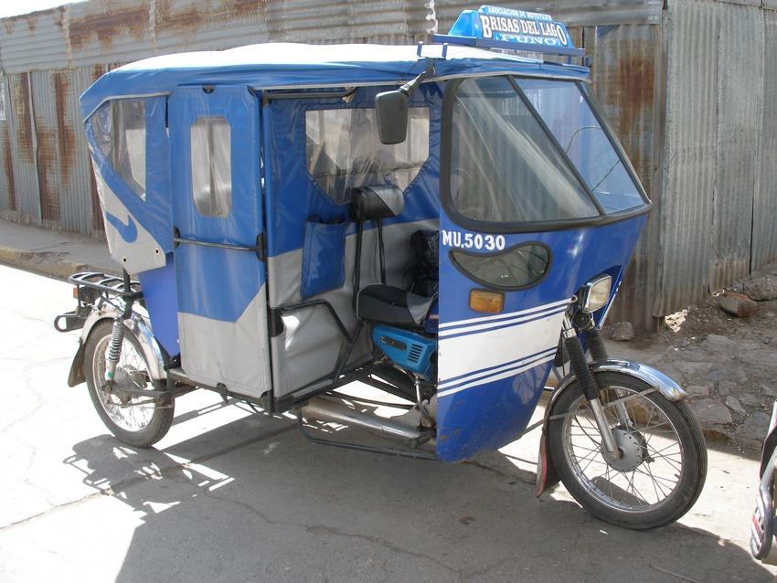 mototaxi que funciona con agua