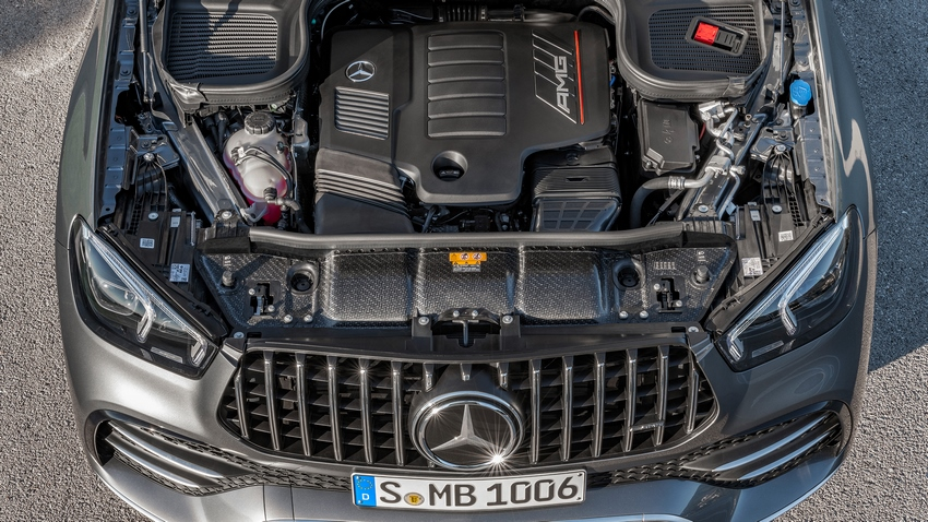 Motor del Mercedes-AMG GLE 53 4MATIC+