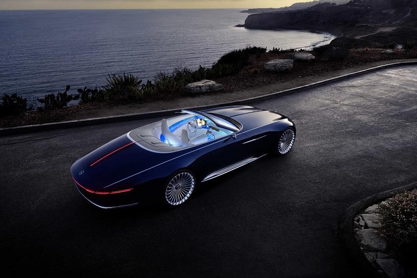 Parte trasera del Visión Mercedes-Maybach 6 Cabriolet