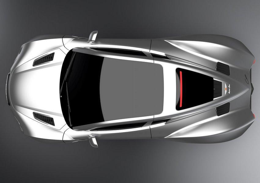 Hispano Suiza Carmen 2020 vista desde arriba
