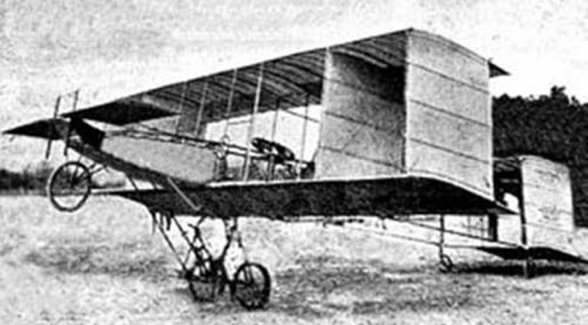 El primer vuelo de un avión en La Habana