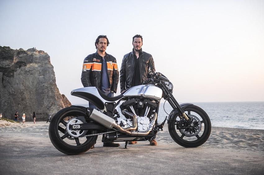 Harley-Davidson Dyna Wide Glide de Keanu Reeves