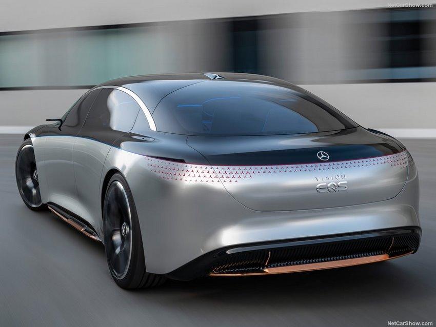 Parte trasera Mercedes-Benz Vision EQS