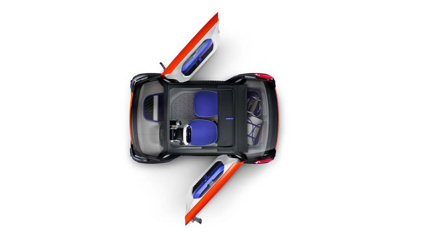 Citroën Ami One Concept vista aérea