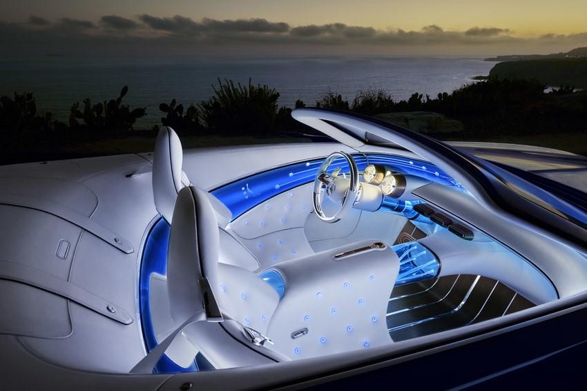 Interior del Visión Mercedes-Maybach 6 Cabriolet