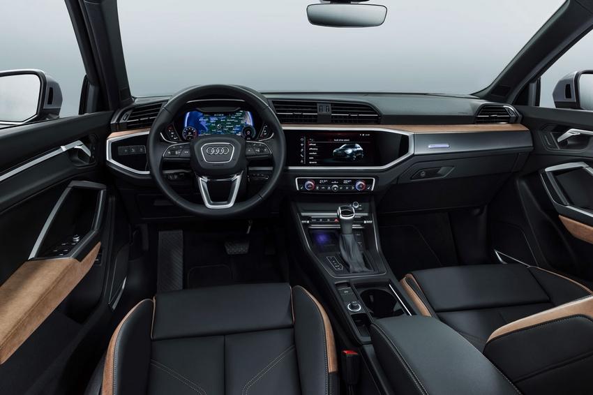 Interior del Audi A3