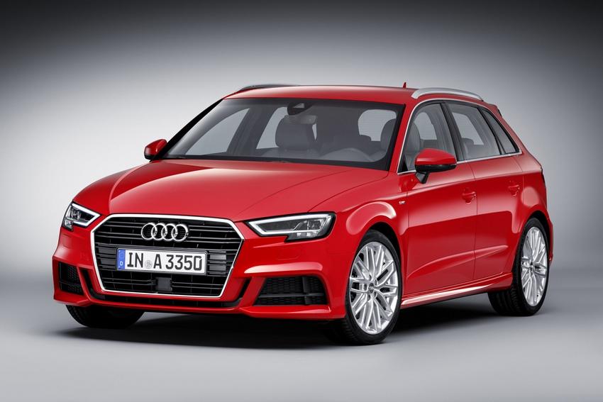 Audi A3 Sportback 2019 rojo